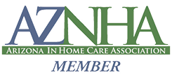 Arizona Non-Medical Home Care Association - AZNHA, a senior care services professional affiliation of In-Home Care Alliance in Scottsdale, Arizona